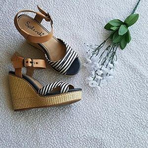 Splendid Kutie Sandal Wedges